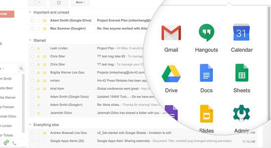 aplicaciones google g suite